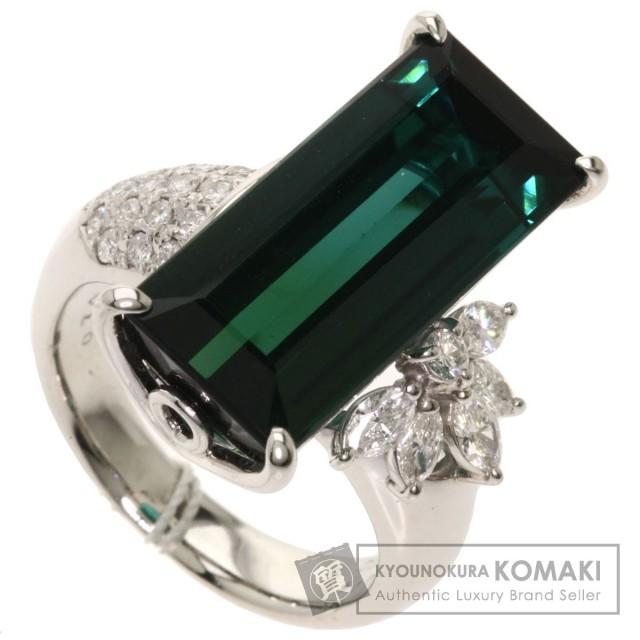 13.14ct トルマリン ダイヤモンド リング・指輪 プラチナPT900 16g レディース