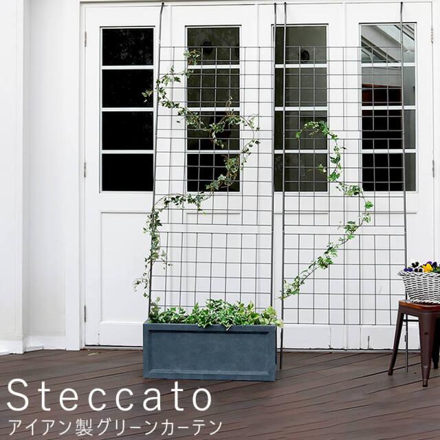 Steccato(ステッカート) アイアン製グリーンカーテン