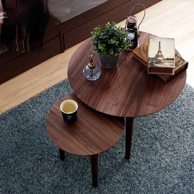 Blee(ブリー) 円形ネストテーブル