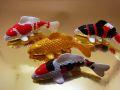 【日本のおみやげ】◆錦鯉マグネットセット【4種類4匹入り】