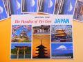 【日本のおみやげ】ポストカード【JAPAN六景/写真】(バラ単品)透明OPP袋入り