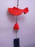 【日本のおみやげ】◆風鈴【金魚】南部鉄器