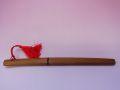 【日本のおみやげ】◆日本刀・模造刀【茶鞘ペーパーナイフ】(赤房付)