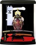 【日本のおみやげ】◆戦国武将ARMORSERIESフィギュア【毛利元就】