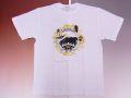 【日本のおみやげ】【ホームステイおみやげ】【日本土産】(漢字・和柄)◆和風Tシャツ【サークルJAPAN】大人用(M~LL)白地
