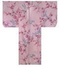 【日本のおみやげ】◆外国人向け着物【梅に鶴】子供用(45in~50in)