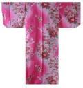 日本のお土産|日本のおみやげホームステイおみやげ|日本土産◆外国人向け浴衣【ぼかし人形】子供用(45in〜50in)