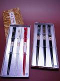 【日本のおみやげ】◆日本のお箸【若狭塗】トムソン箱入3膳セット
