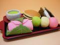 【日本のおみやげ】◆おもしろ消しゴム【和菓子】ブリスターパックプラスチック製トレイ付