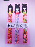 【日本のおみやげ】◆和紙人形しおり【しおり】当店お任せ(絵柄アソート)3種セット