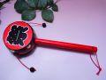 【日本のおみやげ】◆でんでん太鼓【祭】昔懐かしい日本の玩具