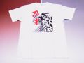 【日本のおみやげ】【ホームステイおみやげ】【日本土産】(漢字・和柄)◆和風Tシャツ【忍者】大人用(S〜3L)白地