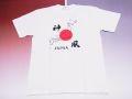 【日本のおみやげ】【ホームステイおみやげ】【日本土産】(漢字・和柄)◆和風Tシャツ【地図神風】大人用(M~3L)白地
