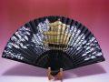 【日本のおみやげ】◆絹扇子【金閣寺】(絵柄扇子)「掛扇別売り」