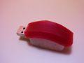【日本のおみやげ】【ホームステイおみやげ】【日本土産】♪リアル寿司USBメモリ8GB♪【まぐろ】本物そっくり