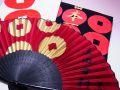 【日本のおみやげ】(漢字)◆戦国武将3点セットTシャツ/フェイスタオル/センス【真田幸村】
