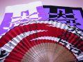 【日本のおみやげ】(漢字)◆戦国武将3点セットTシャツ/フェイスタオル/センス【石田三成】