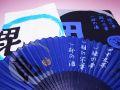 【日本のおみやげ】(漢字)◆戦国武将3点セットTシャツ/フェイスタオル/センス【上杉謙信】