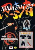 【日本のおみやげ】◆忍者スーツ4点セット【特大】子供用(150cm)