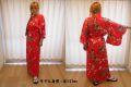 【日本のおみやげ】◆外国人向け着物【立姿】女性用(フリーサイズ)