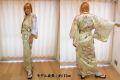 【日本のおみやげ】◆外国人向け着物【姫牡丹菊】女性用(フリーサイズ)