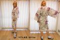 【日本のおみやげ】◆外国人向けハッピローブ【桜舞妓】女性用(フリーサイズ)