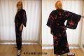 日本のお土産|日本のおみやげホームステイおみやげ|日本土産◆外国人向け浴衣【梅鶯】女性用(S/M)