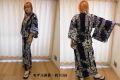 日本のお土産|日本のおみやげホームステイおみやげ|日本土産◆外国人向け浴衣【丸花】女性用(S〜LL)