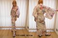 日本のお土産|日本のおみやげホームステイおみやげ|日本土産◆外国人向け浴衣【梅牡丹】女性用(M)