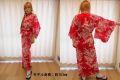 【日本のおみやげ】◆外国人向け浴衣【ゆり】女性用(S~LL)