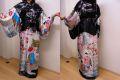 【日本のお土産】【日本のおみやげ】【ホームステイおみやげ】【日本土産】◆外国人向け着物【京舞妓】女性用