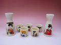 【日本のお土産】◆美人5客酒器セット【日本美陶】