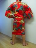 【日本のおみやげ】◆外国人向けハッピローブ【竜と鷲】男女兼用(XLサイズ)