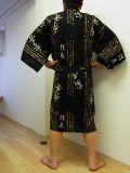 【日本のおみやげ】◆外国人向けハッピローブ【金文字秀吉】男女兼用(XLサイズ)