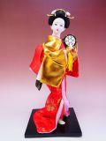 【日本のおみやげ】◆日本人形【和太鼓】12インチ