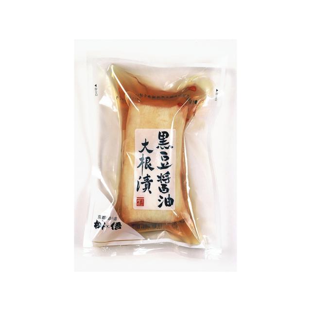 黒豆醤油大根