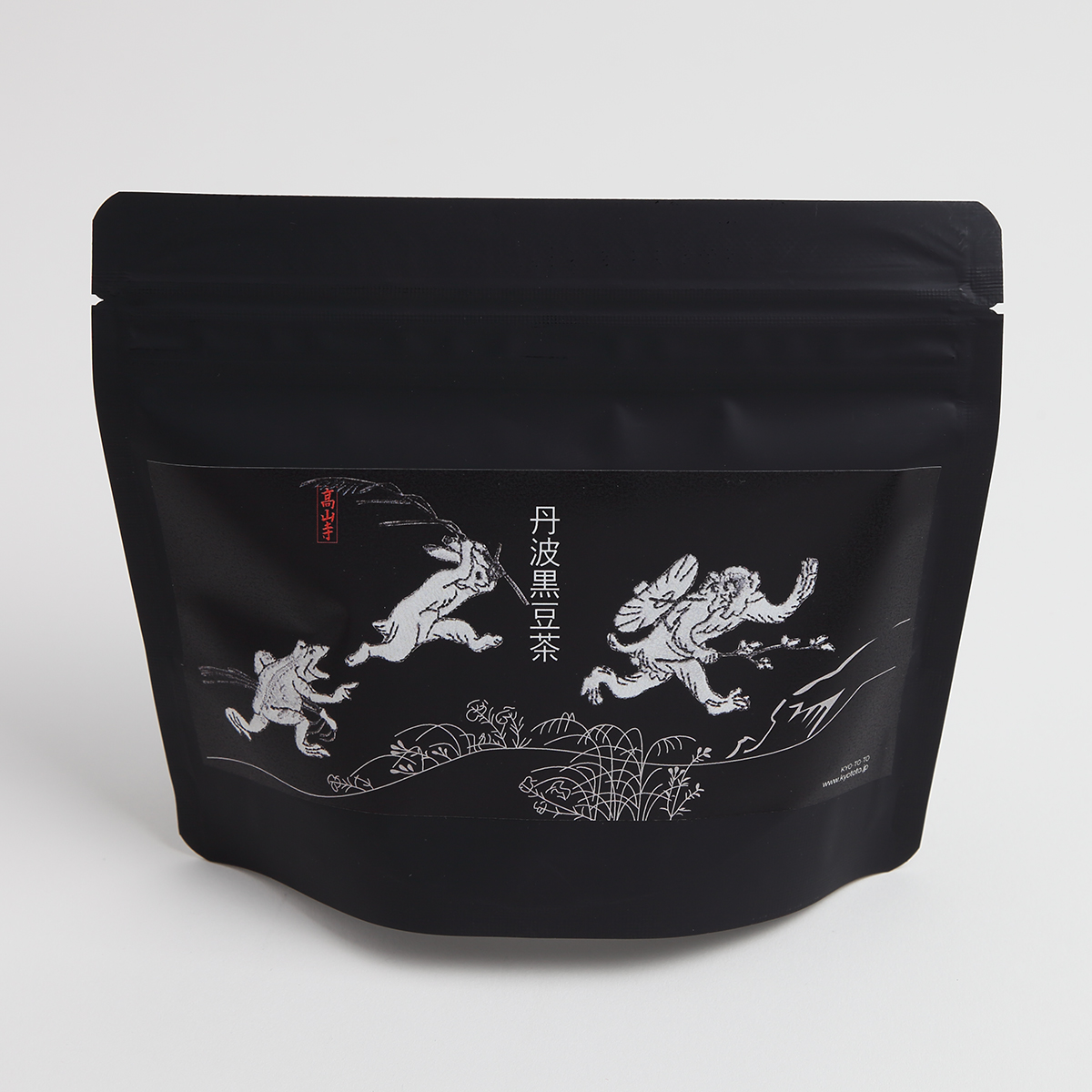 KY02-882K/丹波黒豆茶/鳥獣人物戯画(黒)