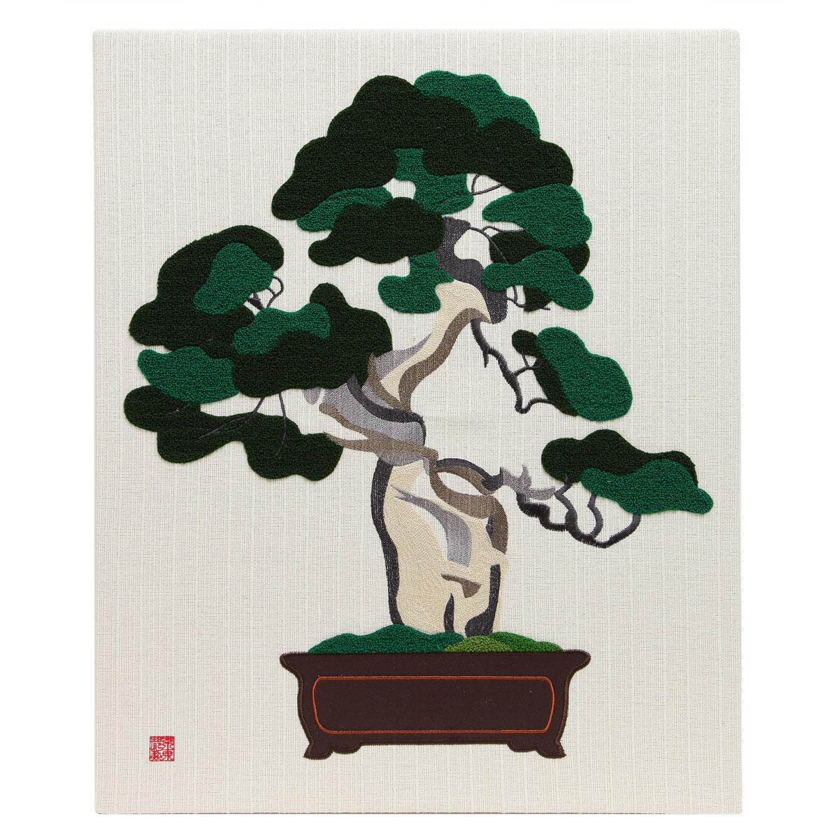 KY15-767/ファブリックパネル/真柏