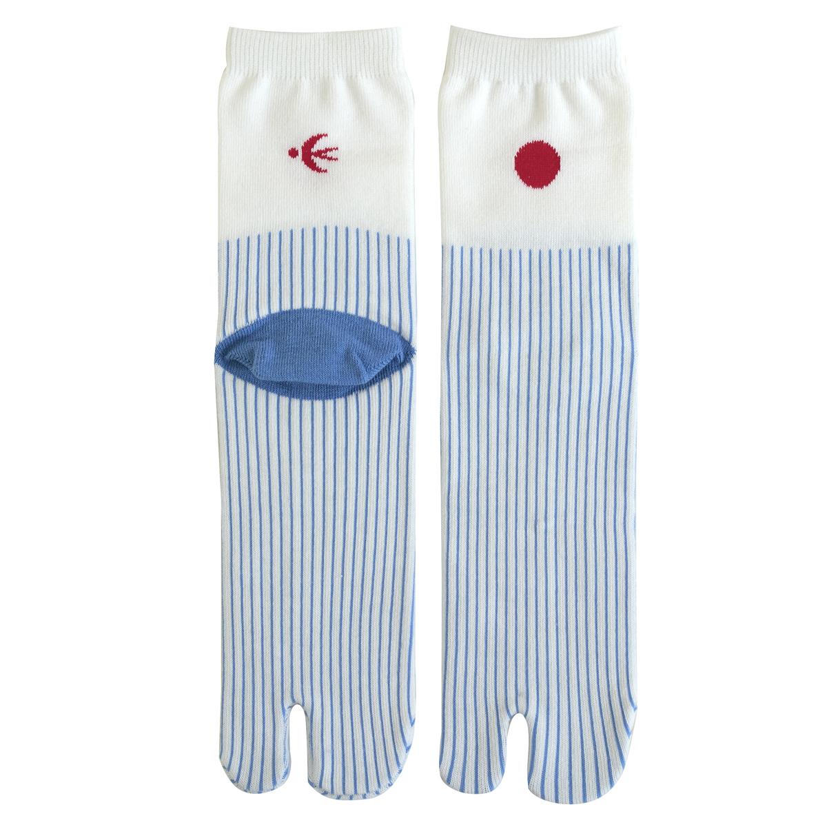 KY18-26/足袋ソックス/天気雨/【4足までゆうパケット可】
