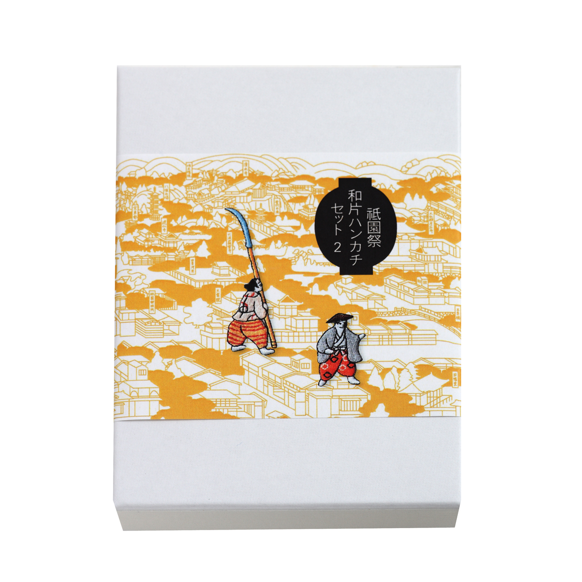 KY58-038/祇園祭ハンカチワッペンセット/蟷螂山