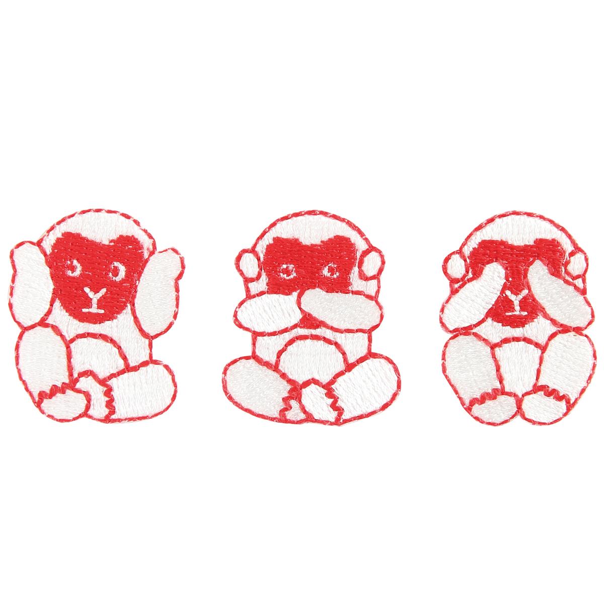KYWS-382/ワッペン/三猿/【DM便可】