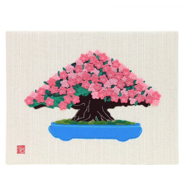 KY15-769/ファブリックパネル/皐月