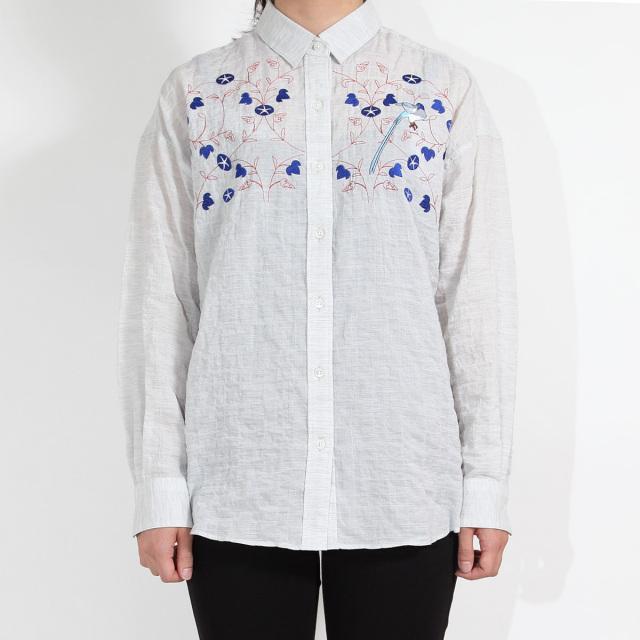 KY17-716/ふんわりシャツ[播州織]/さんこうちょう