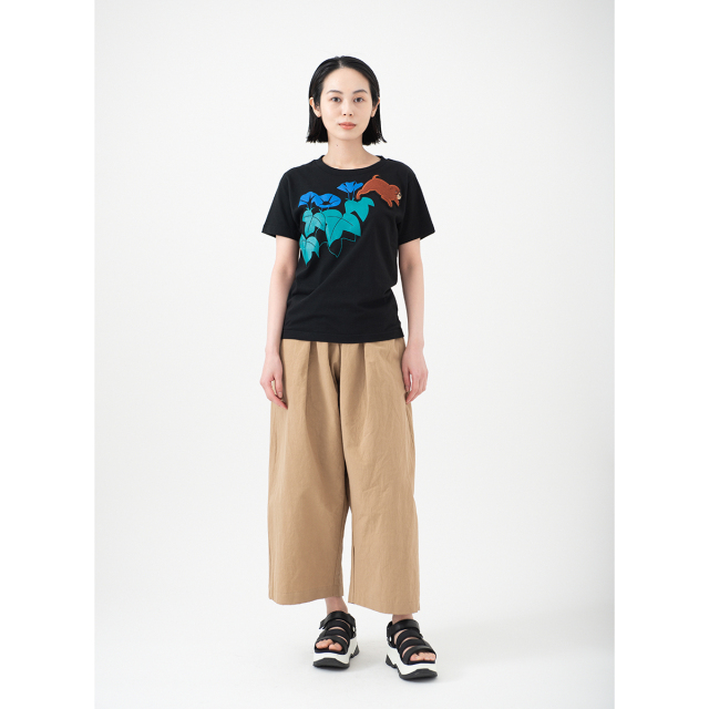 KY54-776/Tシャツ(黒)/ころ