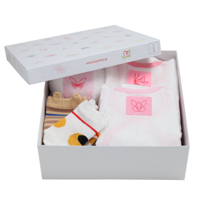 KY58-782/Gift Set for babies(A)/Pink