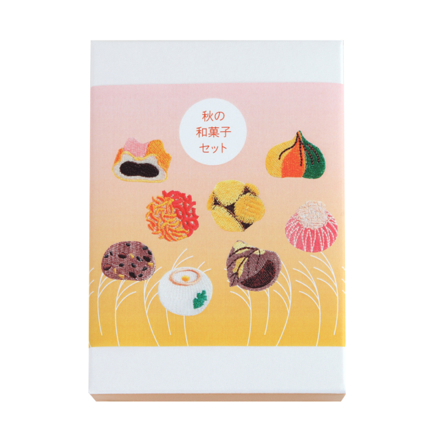KY58-857A/Patches Set/Autumn Japanese Sweets