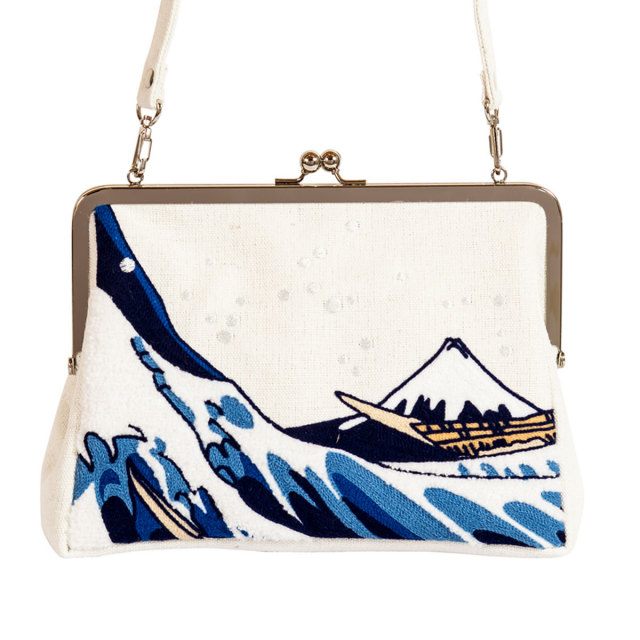 KY80-800/Clutch bag/The Great Wave