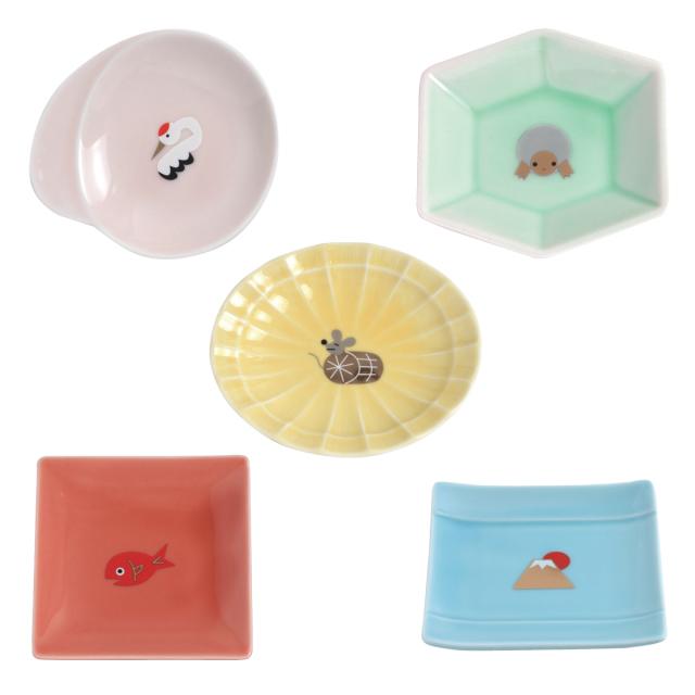 KY86-867/Tiny Plate/Set of 5 Plates