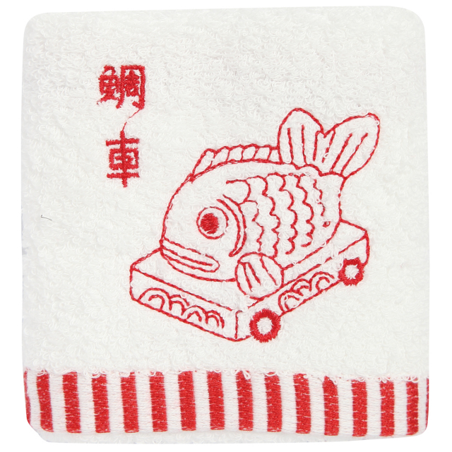 KY95-385/Hand Towel/Sea Bream Car