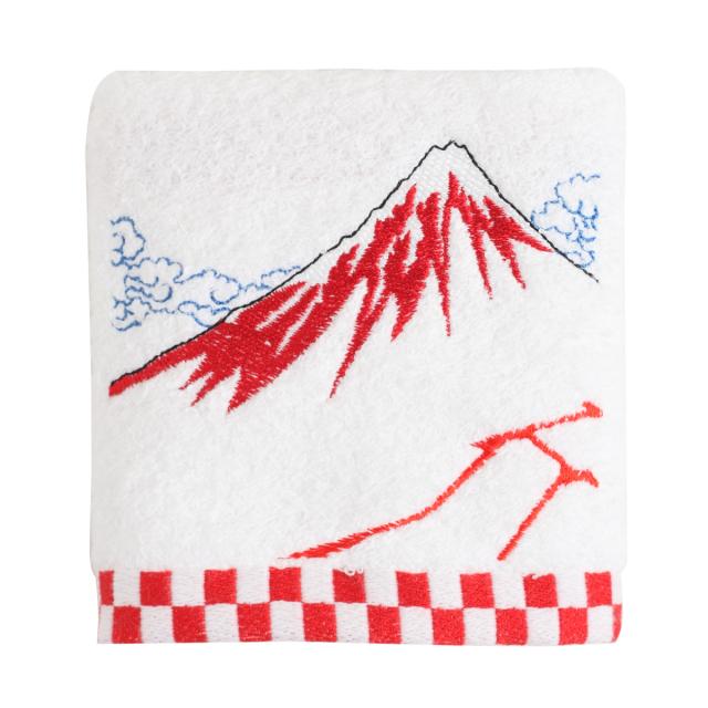 KY95-864/ハンドタオル/黒富士